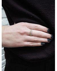 Sethi Couture - Metallic Marquise Diamond Band Ring - Lyst