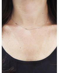Jennifer Meyer - Multicolor 16 Inch Bar Necklace - Lyst