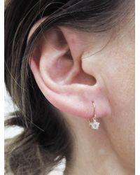 Kataoka - Multicolor Diamond Snowflake Drop Earrings - Lyst