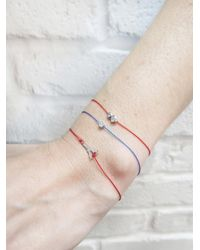 RedLine - Multicolor Single Diamond Blue Illusion Bracelet - Lyst