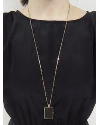 Sharon Khazzam - Multicolor Portina Locket Necklace - Lyst