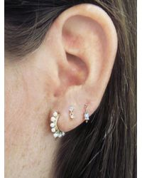 Maria Tash - Metallic Pearl Coronet Ring Single Earring - Lyst