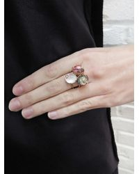 Andrea Fohrman - Pink Tourmaline Mini Galaxy Star Ring - Lyst