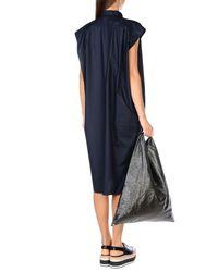Balenciaga - Blue Knee-length Dress - Lyst
