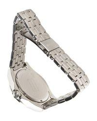 Just Cavalli Metallic Wrist Watch for men