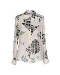Lala Berlin - Natural Shirt - Lyst
