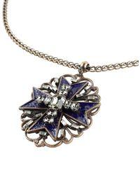 Alberta Ferretti - Blue Necklace - Lyst