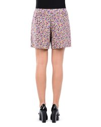 Boutique Moschino | Purple Shorts | Lyst
