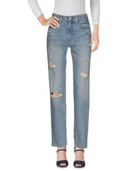 Denim & Supply Ralph Lauren - Blue Denim Trousers - Lyst