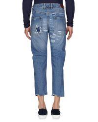 People - Blue Denim Pants for Men - Lyst