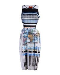 Clover Canyon - Blue Knee-length Dress - Lyst
