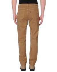 Jeckerson - Natural Casual Trouser for Men - Lyst