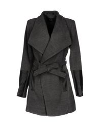 Vero Moda | Gray Coat | Lyst