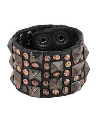Campomaggi - Black Bracelet - Lyst