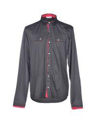 Versace - Gray Shirt for Men - Lyst