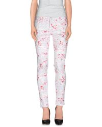 Nine:inthe:morning - White Casual Pants - Lyst
