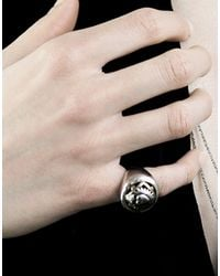 PAOLA GRANDE - Metallic Ring - Lyst