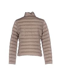Peuterey - Natural Down Jacket - Lyst