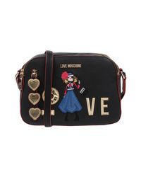 Love Moschino - Black Cross-body Bags - Lyst