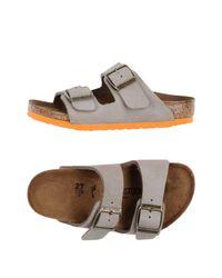 Birkenstock - Gray Sandals for Men - Lyst