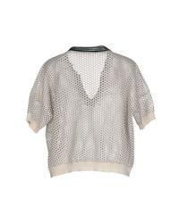Suoli - White Sweater - Lyst