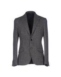 Mp Massimo Piombo | Gray Blazer for Men | Lyst