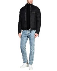 DSquared² - Black Down Jacket for Men - Lyst