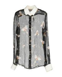Piccione.piccione - Black Shirt - Lyst