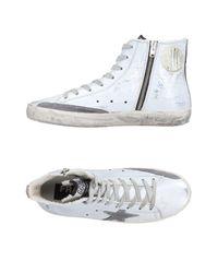 Golden Goose Deluxe Brand - White High-tops & Sneakers - Lyst