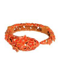 Roberto Cavalli - Orange Bracelet - Lyst