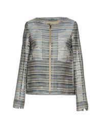 Herno - Blue Jacket - Lyst