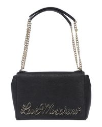 Love Moschino - Black Shoulder Bag - Lyst