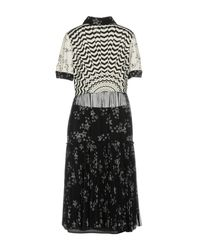 I'm Isola Marras - Black 3/4 Length Dress - Lyst
