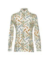 Versace - White Shirt for Men - Lyst