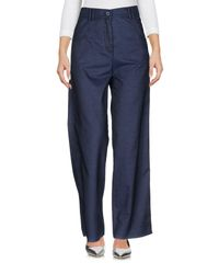 Ballantyne - Blue Denim Trousers - Lyst