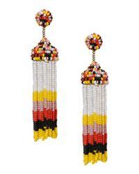 IDEAS 108 - Yellow Earrings - Lyst