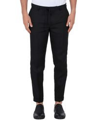 The Kooples - Black Casual Pants for Men - Lyst