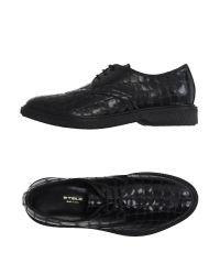 Stele - Black Lace-up Shoe - Lyst