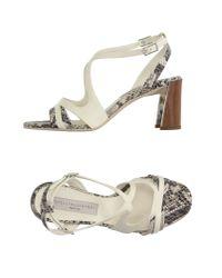 Stella McCartney - White Sandals - Lyst