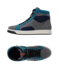 Prada Sport - Blue High-tops & Sneakers - Lyst