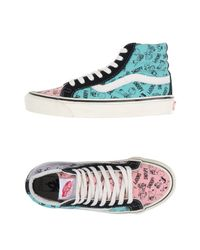 Vans - Pink High-tops & Trainers - Lyst