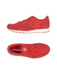 Converse CONS - Red Low-tops & Sneakers - Lyst