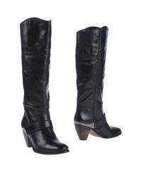 Miss Sixty - Black Boots - Lyst