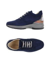 Gattinoni | Blue Low-tops & Trainers | Lyst