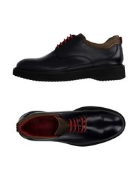Green George - Black Lace-up Shoe - Lyst