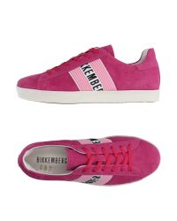Bikkembergs | Pink Low-tops & Trainers | Lyst