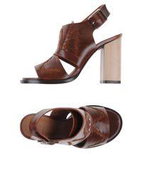 Thakoon Addition | Brown Sandals | Lyst