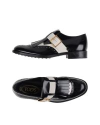 Tod's | White Loafer | Lyst