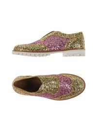 L'f Shoes Pink Loafer