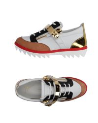 Giuseppe Zanotti   White Low-tops & Trainers   Lyst